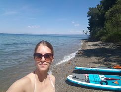 ankaran paddle board spot in Slovenia