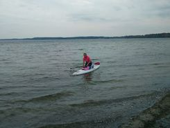 Bockholmwik, Ostsee paddle board spot in Germany
