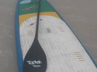 Canto do Forte paddle board spot in Brazil