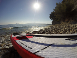 Arenes cros paddle board spot in France