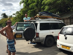 Little Reef sitio de stand up paddle / paddle surf en Mauricio