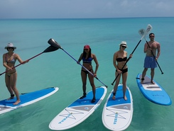 SurfSup Bermuda sitio de stand up paddle / paddle surf en Bermudas