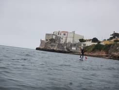Parque Urbano de Albarquel paddle board spot in Portugal