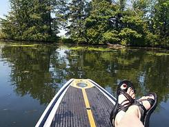 Spooner Lakes paddle board spot in United States