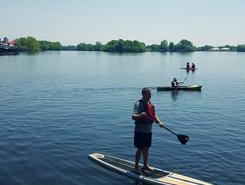 Fritse Park Area, Neenah WI paddle board spot in United States