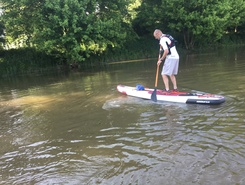 l'isle  spot de stand up paddle en France