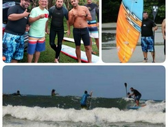 Itaguaré sitio de stand up paddle / paddle surf en Brasil