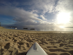The Vale spot de stand up paddle en Maurice