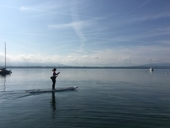 Munz  spot de stand up paddle en Suisse