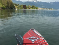 Vevey spot de stand up paddle en Suisse