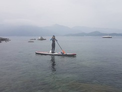 Villasimius sitio de stand up paddle / paddle surf en Italia