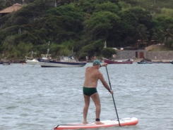 Ferradura sitio de stand up paddle / paddle surf en Brasil