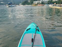 short marina loop - middle island sitio de stand up paddle / paddle surf en RAE de Hong Kong (China)