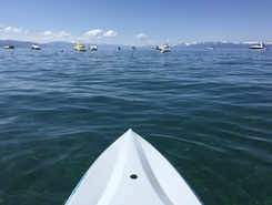 Kings Beach, Lake Tahoe sitio de stand up paddle / paddle surf en Estados Unidos