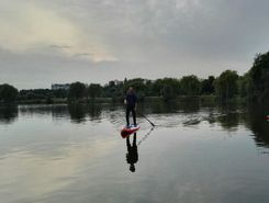 trzy stawy katowice spot de stand up paddle en Pologne