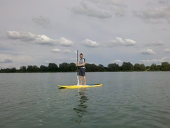 Alperstedter see sitio de stand up paddle / paddle surf en Alemania
