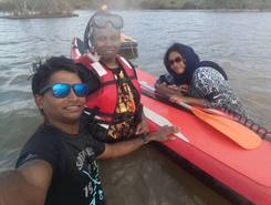 Lake Ponninyin Selvan spot de stand up paddle en Inde
