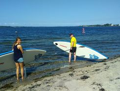 Beckerwerft, Ostsee paddle board spot in Germany