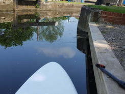 River Chelmer paddle board spot in United Kingdom