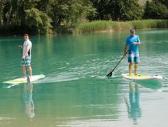 iles de sion paddle board spot in Switzerland