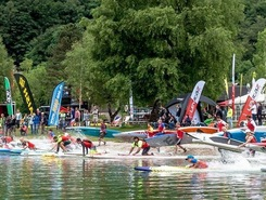 Traunsee spot de stand up paddle en Autriche
