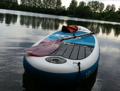 Baggersee HM sitio de stand up paddle / paddle surf en Alemania