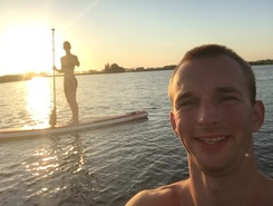 sneek paddle board spot in Netherlands