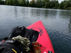 Baggersee HM paddle board spot in Germany