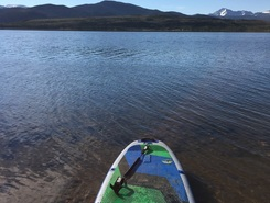 Giberson bay paddle board spot in United States
