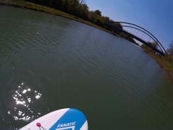 Hamm Kanal sitio de stand up paddle / paddle surf en Alemania