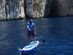 Island Paxos, Greece paddle board spot in Greece
