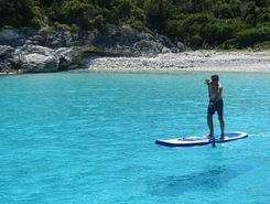 Antipaxos, Greece paddle board spot in Greece