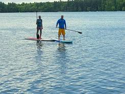 Neskoro Crystal Lake sitio de stand up paddle / paddle surf en Estados Unidos