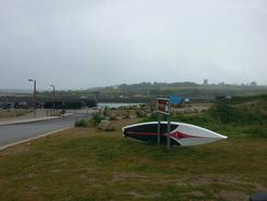 hayle harbour to carbis and back sitio de stand up paddle / paddle surf en Reino Unido