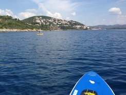 B spot de stand up paddle en Grèce