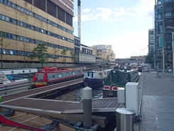 Paddington Basin spot de SUP em Reino Unido
