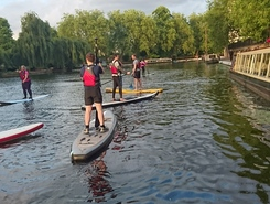 Paddington Basin sitio de stand up paddle / paddle surf en Reino Unido