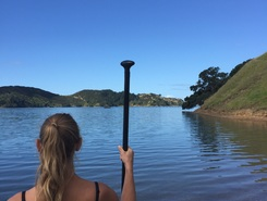 Awaroa  paddle board spot in New Zealand