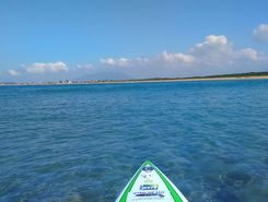travessia boca da barra  - itapebussus sitio de stand up paddle / paddle surf en Brasil