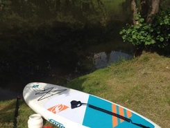 Risle spot de stand up paddle en France