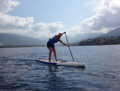 Propriano paddle board spot in France