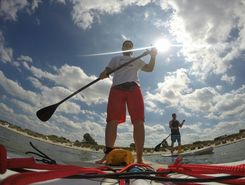 wustrow  sitio de stand up paddle / paddle surf en Alemania