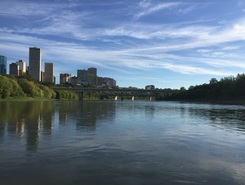 North Saskatchewan River  spot de stand up paddle en Canada