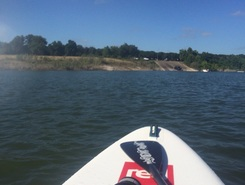 Lake Georgetown paddle board spot in United States