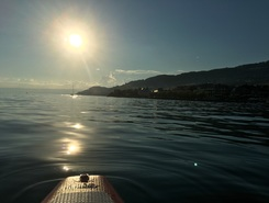 Swiss Paddle Vevey paddle board spot in Switzerland
