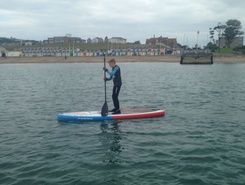 Swanage sitio de stand up paddle / paddle surf en Reino Unido
