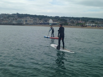 Swanage spot de stand up paddle en Royaume-Uni