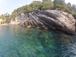 Calanque de Port d'alon spot de stand up paddle en France