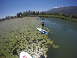 le bourget du lac sitio de stand up paddle / paddle surf en Francia