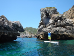 Praia da Ribeira do Cavalo sitio de stand up paddle / paddle surf en Portugal